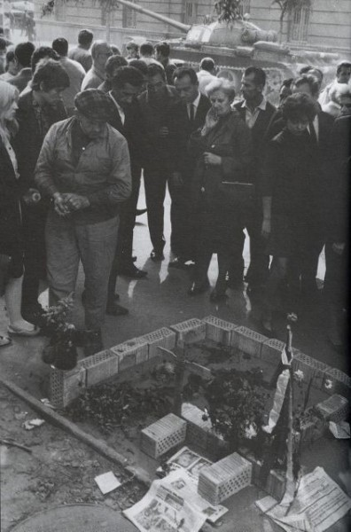 Tibor Borský, 21. 8. 1968